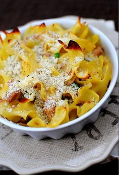 This Tuna Noodle Casserole for Two is perfect for the season of Lent! This recipe has all the flavor of a classic tuna noodle casserole without all the leftovers. Tuna Casserole Recipes, Noodle Casserole, Tuna Recipes, Stir Fry Recipes, Meatball Recipes, Seafood Recipes, Snack Recipes, Noodle Recipes, Sandwich Recipes