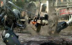 Metal Gear Rising - Revengeance now on Mac app store.