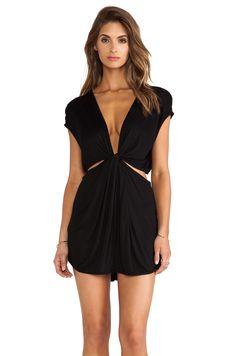 Indah Rae Cutout Mini Dress in Black