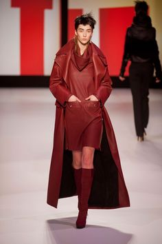 Jean Paul Gaultier | Paris | Inverno 2013, vermelho