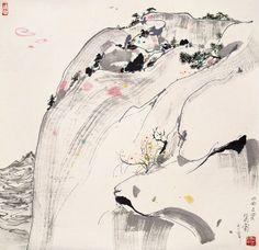 吴冠中 北武当山 by China Online Museum - Chinese Art Galleries, via Flickr