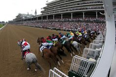And they're off at the 137th Kentucky Derby!