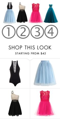 """Which One Do You pick Comment  On it"" by brandy-carringer ❤ liked on Polyvore featuring Givenchy, Chicwish and Little Mistress"