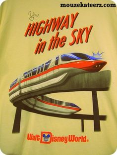 I can remember how excited we were to ride the monorail when Disney World first opened. It traveled through the hotel...I was 8 or 9.
