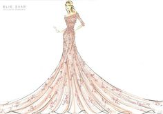 Once Upon A Dream... Harrods' Disney Princess, Aurora from Sleeping Beauty by Elie Saab