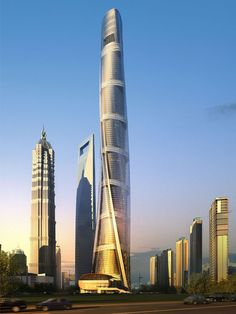 Shanghai Tower – Green Skyscraper China