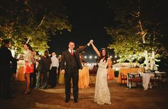 Gorgeous bride and groom during their Dr. Seuss inspired wedding! Photo by @matthewmorgan