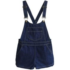 Chicnova Fashion Denim Overolls ($58) ❤ liked on Polyvore featuring jumpsuits, shorts, overalls, dresses, overall, jumpsuits & rompers, denim overalls, overall jumpsuit and bib overalls