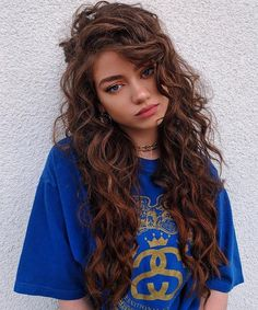 15 Of The Long Curly Hairstyles for Girls.