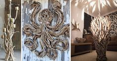 Creative Driftwood Creations :http://www.wwideas.com/2017/03/creative-driftwood-creations/