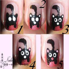 Nailart creaties: [Tutorial]: Hoe een pot maken op je nagel
