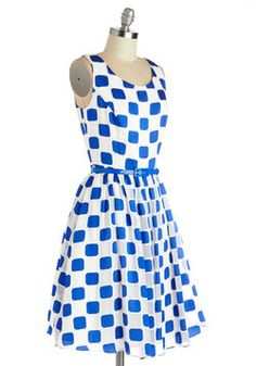 Squaring is Caring Dress, #ModCloth
