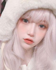 146 ideas for makeup asian orange Ulzzang Korean Girl, Cute Korean Girl, Cute Asian Girls, Beautiful Asian Girls, Cute Girls, Japonese Girl, Doll Style, Style Lolita, Kawaii Makeup
