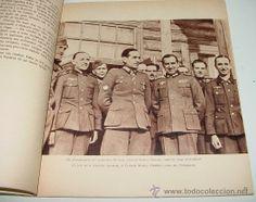 Antiguo Libro Los Voluntarios españoles en el frente - Division Azul - II Guerra Mundial - Ed. Propa (Militar - II Guerra Mundial)
