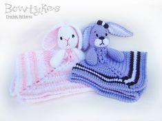 Mesmerizing Crochet an Amigurumi Rabbit Ideas. Lovely Crochet an Amigurumi Rabbit Ideas. Crochet Lovey, Crochet Rabbit, Manta Crochet, Crochet Blanket Patterns, Baby Patterns, Crochet Toys, Free Crochet, Free Knitting, Snuggle Blanket