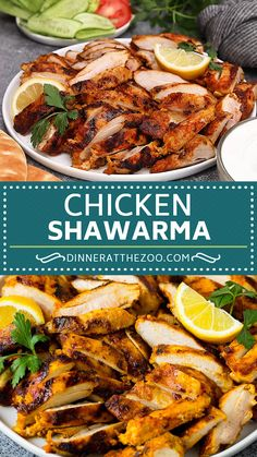 Mar 2020 - This chicken shawarma is marinated in lemon juice, olive oil and spices then grilled to perfection. Mexican Food Recipes, Vegetarian Recipes, Dinner Recipes, Cooking Recipes, Irish Recipes, Irish Desserts, French Recipes, Grilling Recipes, Cheesy Recipes