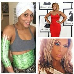 Tamar Braxton wraps...so can you.! www.toriwraps2.com