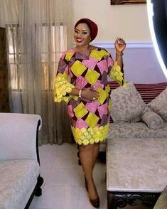 Call, SMS or WhatsApp 2348144088142 if you want this style, needs a skilled tailor to hire or you want to expand more on your fashion business. African Lace Styles, Ankara Short Gown Styles, African Lace Dresses, African Dresses For Women, African Attire, African Fashion Ankara, African Inspired Fashion, African Print Fashion, African Print Dress Designs