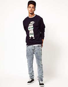 DRMTM Sweatshirt With Bear Print