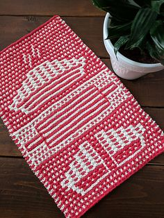 Ravelry: Lattice Have Pie Towel pattern by Amy Marie Washing Clothes, Knitting Projects, Ravelry, Knit Crochet, Crochet Patterns, Kitchen Towels, Dragons, Crafting, Diy