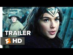 Wonder Woman Official Trailer 2 (2017) - Gal Gadot Movie - YouTube