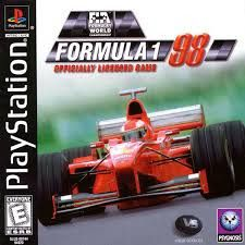 Formula 1 98 Psx Iso Rom Download With Images Playstation