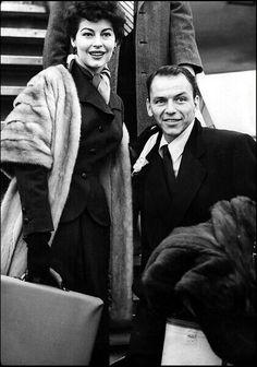 Ava Gardner with Frank Sinatra