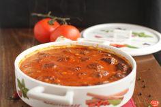 Chiftele în sos de roșii aromat cu busuioc