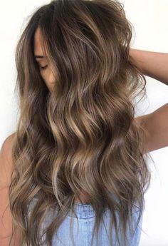 Brown Hair Color Shades, Light Brown Hair Dye, Cool Brown Hair, Light Hair, Hair Color For Black Hair, Brown Hair Inspo, Low Lights Brown Hair, Lightest Brown Hair Color, Brown Hair Perm