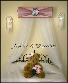Crib Canopy Bed Crown JoJo Teesters Princess by SoZoeyBoutique, $42.98