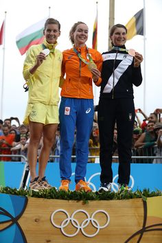 Podium Women's Road Race Rio 2016 Olympic Games 2016 /Getty Images