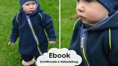 """Wintersuit"" Fleece oder Softshell-Anzug / Schnittmuster und Anleitung bei Makerist"
