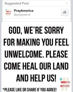 "SHARE IF YOU AGREE!    ""PRAY 4 AMERICA!""   #GodBlessAmerica #SisterPatriots  #UniteRight  #RedNationRising  #tcot pic.twitter.com/gvfRhkqZIP"