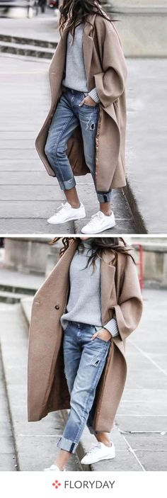 winter outfits street style 49 best fall street style 2018 2019 on 64 - Italian Street Style, Nyc Street Style, Looks Street Style, Looks Style, Street Styles, Womens Fashion For Work, Look Fashion, Winter Fashion, Mode Outfits