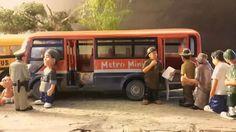 jakarta transport metromini bus