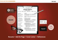 80% OFF SALE Resume Template  CV Template with by ResumeEnhancer