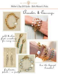 belle maison: Mother's Day Gift Guide :: Ex Voto Vintage Jewelry