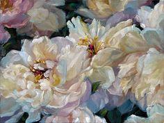 Fiesta - Bagatelle Peonies by Myriam Kin-Yee Big Flowers, White Flowers, Beautiful Flowers, Thomas Darnell, Invitation Design, Flower Art, Painting & Drawing, Peonies, Art Photography