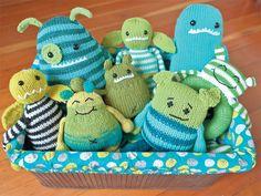 Hello, Little Monster! - Knitting Daily