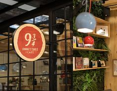 "Check out new work on my @Behance portfolio: ""9 3/4 BOOKSTORE + CAFÉ"" http://be.net/gallery/33365433/9-34-BOOKSTORE-CAFE"