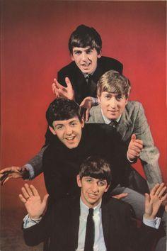 George Harrison, John Lennon, Paul McCartney, and Richard Starkey (August 1963)