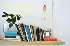 Learn how to make your own pendant light in my new free skillshare class - http://skl.sh/2di0lMW
