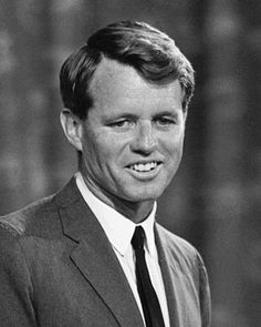 "Photo of Robert F. Kennedy, 1964. Credit: U.S. News & World Report; Library of Congress. Read more on the GenealogyBank blog: ""Assassination of Robert F. Kennedy: Shot after Victory Speech."" http://blog.genealogybank.com/assassination-of-robert-f-kennedy-shot-after-victory-speech.html"