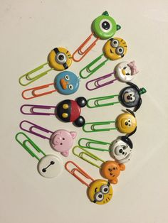 Disney Tsum Tsum polymer clay bookmarks