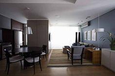 Projeto: Gustavo Calazans Arquitetura - Apartamento triplex (SP)