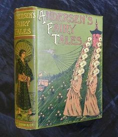 Fairy Tales Hans Christian Andersen Lovely Antique Victorian Nightingale Cover | Books, Antiquarian & Collectible | eBay!