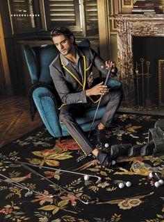Marlon Teixeira 2016 Editorial GQ Mexico Dolce Gabbana 006 Marlon Teixeira is an Elegant Vision in Dolce & Gabbana for GQ Mexico