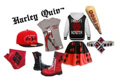 """Harley Quinn"" by anime-loverx on Polyvore"