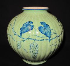 Fritz von Stockmayer.Rosenthal Kunstabteilung. Vase. ca. 1944. Höhe: ca.19cm Durchmesser oben: ca.9cm