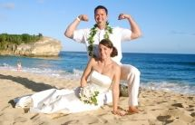 I'm stronger than you! To help create your dream wedding give us a call at 877-711-3003 or visit www.AlohaEverAfter.com. #kauaiweddings